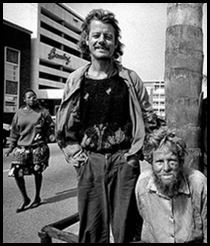 Afrikaner poor begging on streets