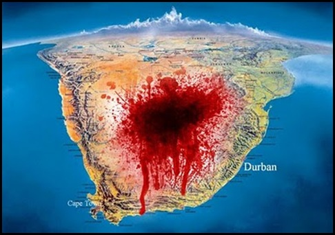South Africa Gaping Wound....