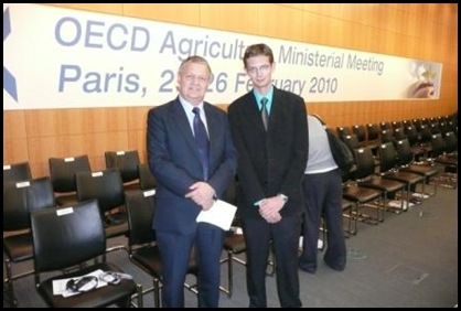 Mulder Dr Peter SA deputy agri-minister OECD Paris France March72010