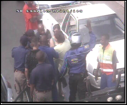 Magdel Steyn 14 March 2010 unlawful arrest and human rights abusees by cops Carteblanche1