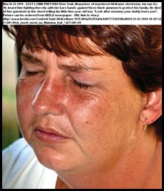 Smit Elsie husband Jan van As fought to death to protect family East Lynne Pretoria March 262010 Beeld