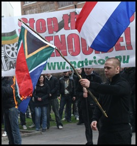 SA_Flag_Burning_Embassy_StopBoerGenocideProtestors_Stockholm_Sweden_April172010