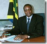 TanzanianAmbassadorEmmanuelMwambulukutuInjured112008Wont Kill You Because You are Not White