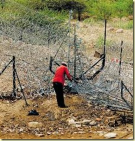 SA_Zimbabwe_border_fencing_maintained_by_Takalani_MkondeleliBeeldNewspaperNov252008