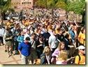 AfrikaansYouthsProtestingAgainstDenialOfTheirLanguageRightsInEducationNov2008