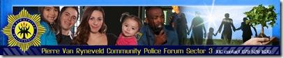 PolicePierreVanRyneveldCommunityPolicingForumLogo