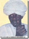 Abd Al Rahman Wanted by International Criminal Court Sudanese