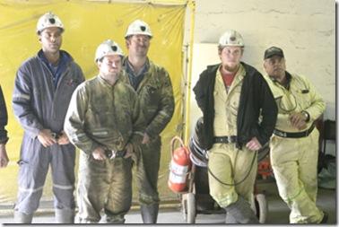 Afrikaner Mineworkers Pamodzi Mine Strike Because Lack of Pay March2009