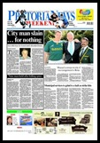 Blignaut Johann slaying for nothing July 24 2009 Pretoria News FP