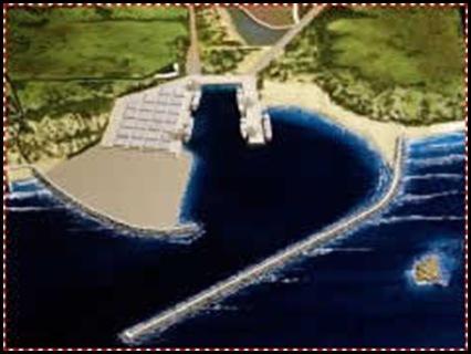 Coego Ngqura deepwater cargo harbour 20km east of Port Elizabeth