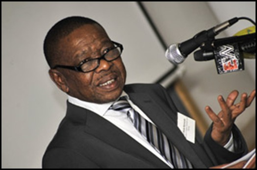 Communist Party member Blade Nzimande is Minister of Higher Education in SA