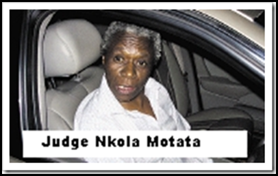 Motata judge Nkola _ FucktheBoerJudge found guilty of drunk driving Sept 1 2009