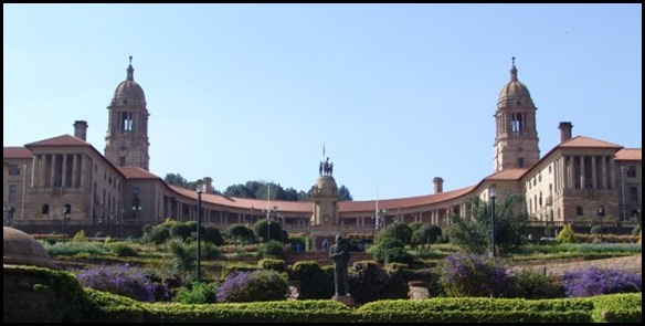 UnionBuildings Seat of Government South Africa Pretoria Oosthuysen Pic