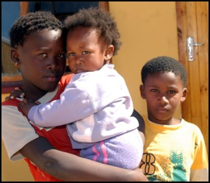 Yoyo Xolani family Motherwell children witnessed brutal execution Herald pic Sam Majela