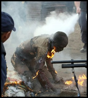 Xenophobia death in Reiger Park May 18 2008