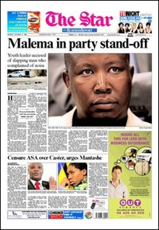 ANC Youth League leader Julius Malema faces racism charge Equality Court JoburgSept212009