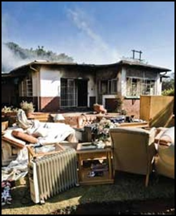 Berg vd Piet murdered house torched July 12 2009 Cullinan AH