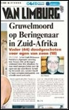 Theunis Chris Belgian Trucker murdered visiting his son in Equestria ChildrenPleadedNotToKillHimDec2008