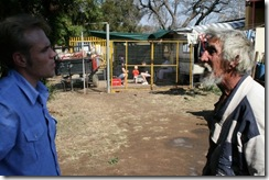 Afrikaner poor hide out in small squatter sites to prevent attacks from armed black gangs oct 2009