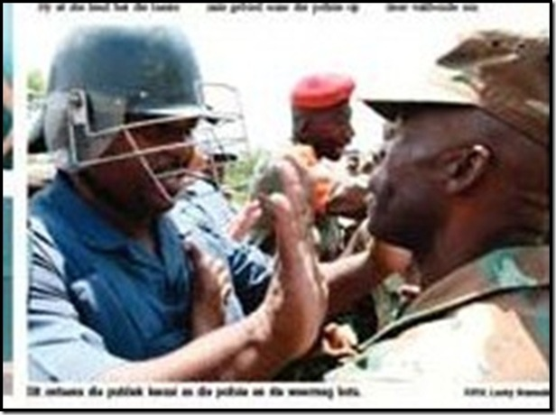 SA Defence Force Has no disclipline SondagP2Aug2009