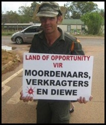 AfrikanerProtestors_Cullinan_Kameeldrift_Leeufontein_Smallho