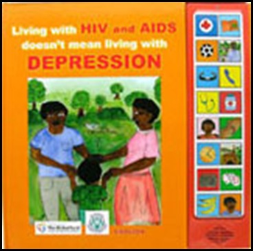 Speaking book Living with HIV and AIDS and DEPRESSION