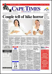 Stern couple of Toronto Canada attacked in Hermanus reserve Dec 23 2009