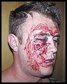 Bad Brad Wood was beaten up in a pub by seven blacks Naboomspruit April82007