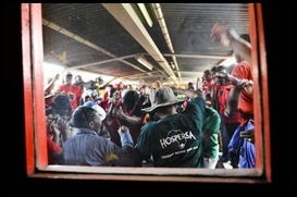 Natalspruit hospital invaded by violent strikers while six patients and two newborns died Lauren mulligan pic