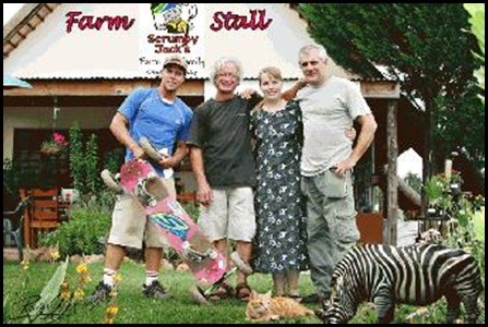 Hodson Leonard murder site Sept2009 Scrumpy Jacks farm stall KZN