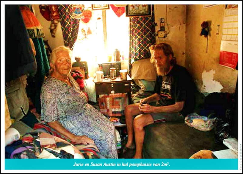"Afrikaners - the white part of the ""rainbow-nation"", living in squalor"