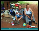 AfrikanerPoor Martin Venter_Gert van Vuuren live underneath this tree Squatter camp Eagles Nest Pretoria