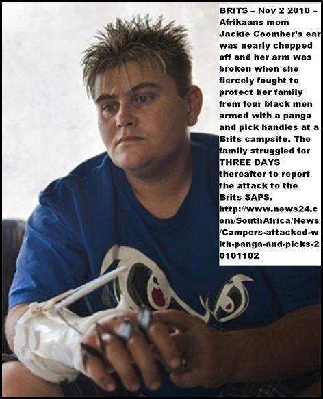 Coomber Jackie Attack TransMagalies Caravan Park BRITS Nov22010