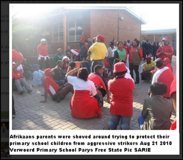 Free State Parys AFRIKANER PARENTS ATTACKED AT PRIMARY SCHOOL AUG212010