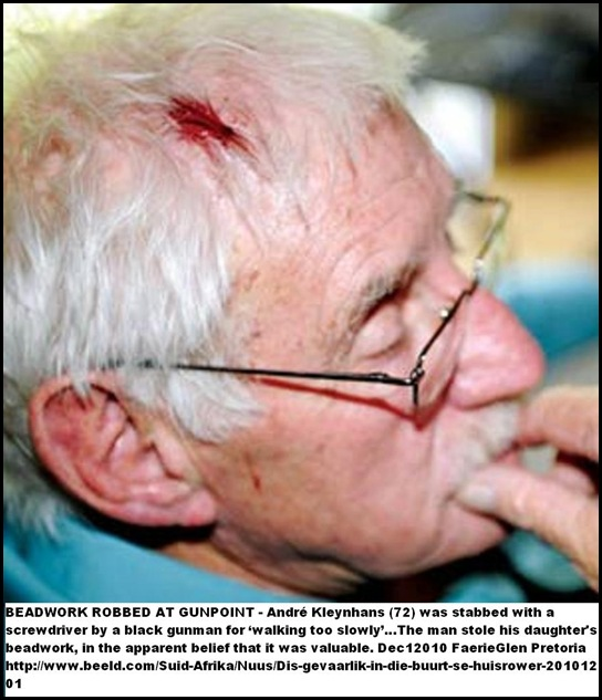 Kleynhans Andre 72 FaerieGlen attacked robbers said it_too_dangerous_there