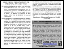 Antiwhite BLACKWASH pamphlet urging blacks to attack SETTLERS instead of fellow blacks Andile Mnxgama