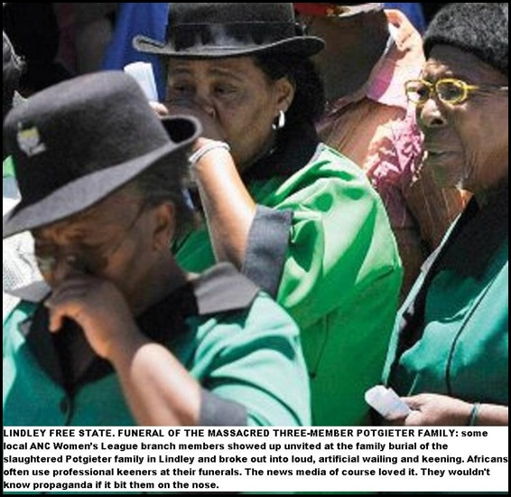 ANC WOMEN'S LEAGUE MEMBERS WEEP AT WILLEMIENT POTIGETER AND PARENTS SERVICE DEC92010