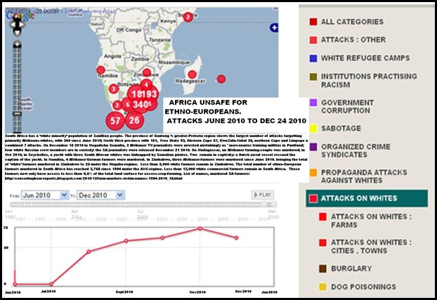 AFRICA NOT SAFE FOR ANY EUROPEANS FARMITRACKER DEC25 2010 RECORD
