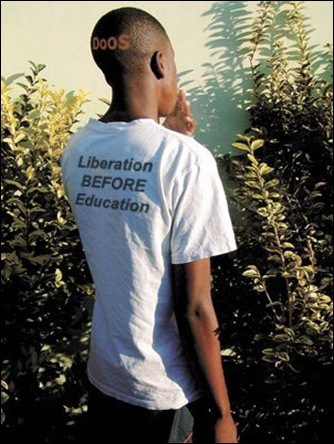 Liberation before Education