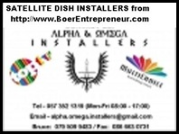 BOER ENTREPRENEUR SATELLITE DISH INSTALLATIONS