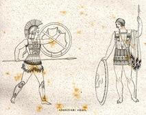 guerrieri greci