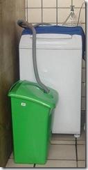 reutiliza agua de lavadora