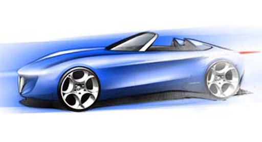 Pininfarina 2-seater Spider Concept