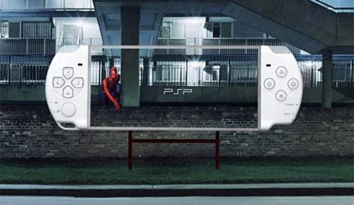PSP创意广告1
