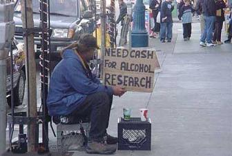 美国乞丐要饭的水准2