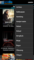 Screenshot of Jadwal Film Cinema 21 & Blitz