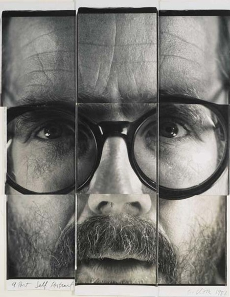 Polaroid Chuck Close