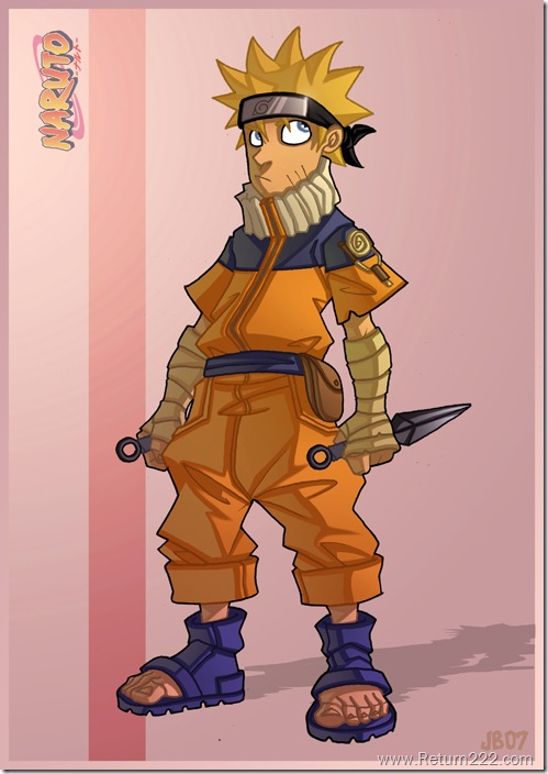 Naruto_by_Javas