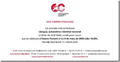 InvitacionConf3rCongres-Igualada-20090309