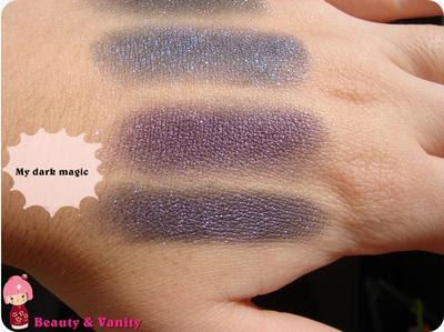 "MAC Mineralize Eyeshadow ""My dark magic"" - Malefica Venomous Villains by Disney"
